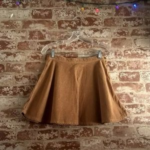 American Apparel Courderoy Circle Skirt